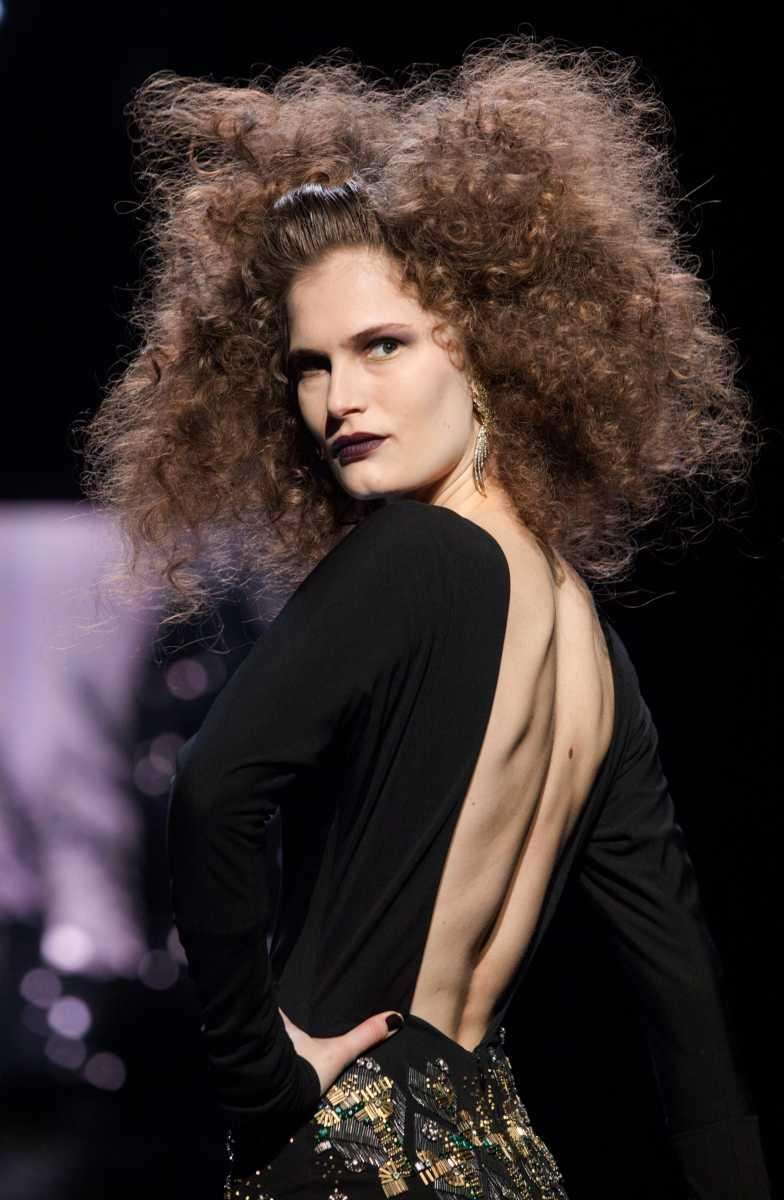 The Badgley Mischka Fall 2012 collection is modeled