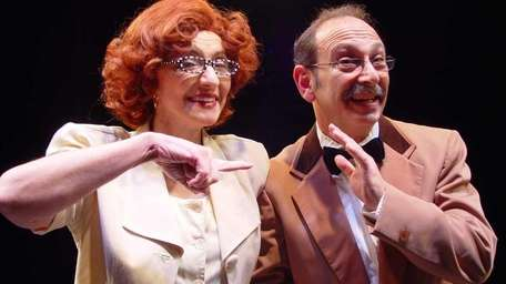 Phyllis March and Stephen Doone star in