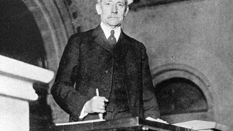 Elihu Root presided over New York's Constitutional Convention