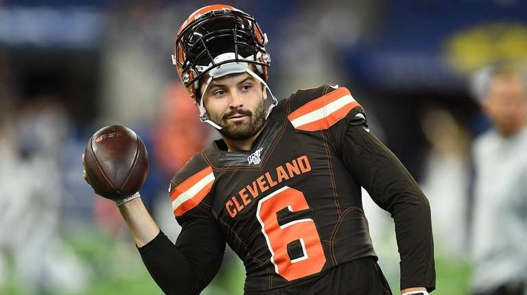 new style 4d857 1ae16 Baker Mayfield rips Giants for taking Daniel Jones with No ...