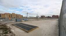Vacant oceanfront property known as the Superblock is