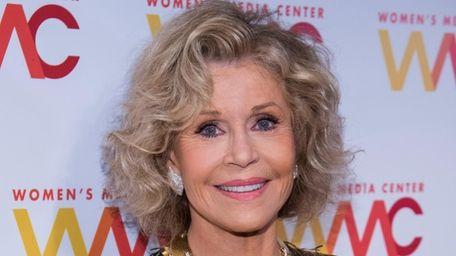 Jane Fonda attends the Women's Media Awards at