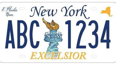 One of new license plate designs proposed for