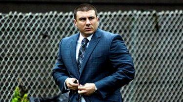 Former New York City police officer Daniel Pantaleo