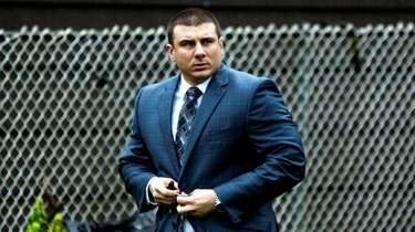 Former New York City police officer Daniel Pantaleo