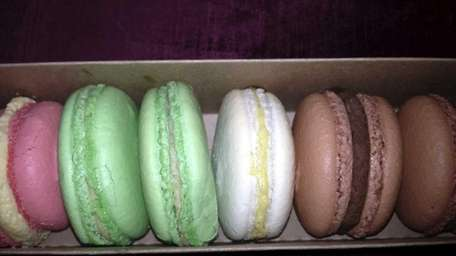 French macarons from Kiss My Cake shop in