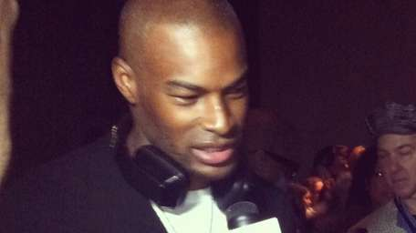 Model Tyson Beckford supported designer and TV personality