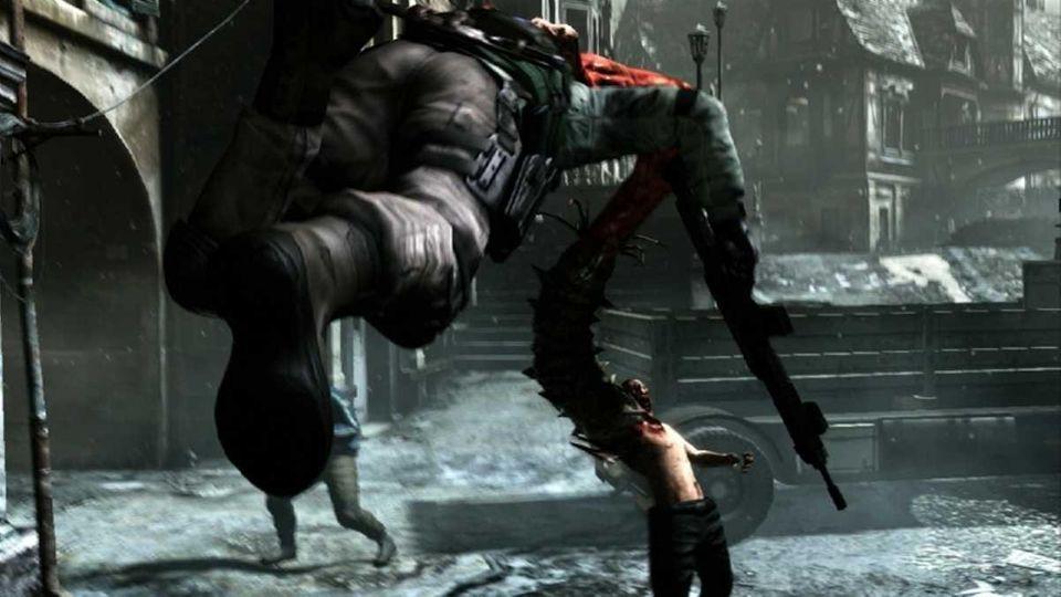 The latest installment of the Resident Evil franchise,