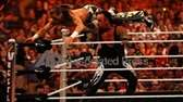 "Undertaker delivers ""snake eyes"" to Shawn Michaels at"