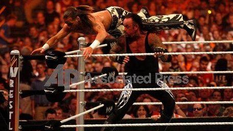 Undertaker delivers