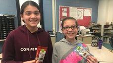 Kidsday reporters Cate Barczak and Payton Palumbo of