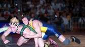 Shoreham-Wading River's Jesse Jantzen, right, decisioned Brentwood's Casey