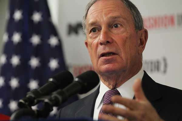 Mayor Michael Bloomberg.