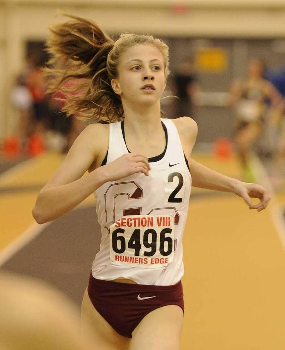 Garden City's Emily O'Neill placed second in 2:56.52