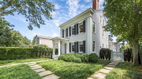This Sag Harbor home is listed for $8.995
