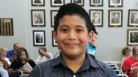 Oliver Rivadeneyra, 10, raised more than $10,000 for