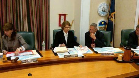 A file photo of a Southampton Town board