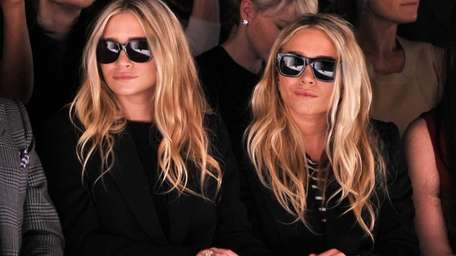 Ashley Olsen and Mary-Kate Olsen attend the J.