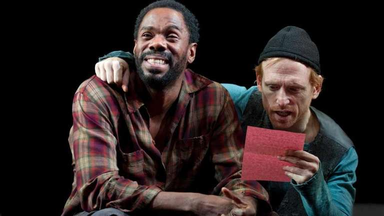 Tony Award-nominee Colman Domingo, left, as Zachariah, and