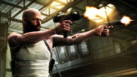 A screenshot of the video game Max Payne