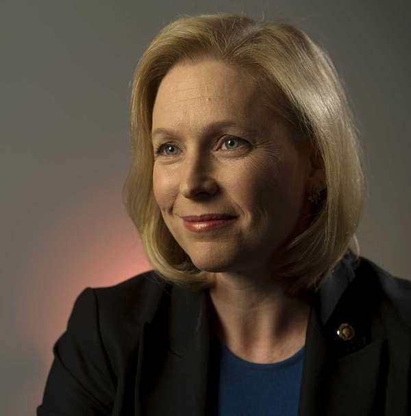 Democratic U.S. Sen. Kirsten Gillibrand at her office