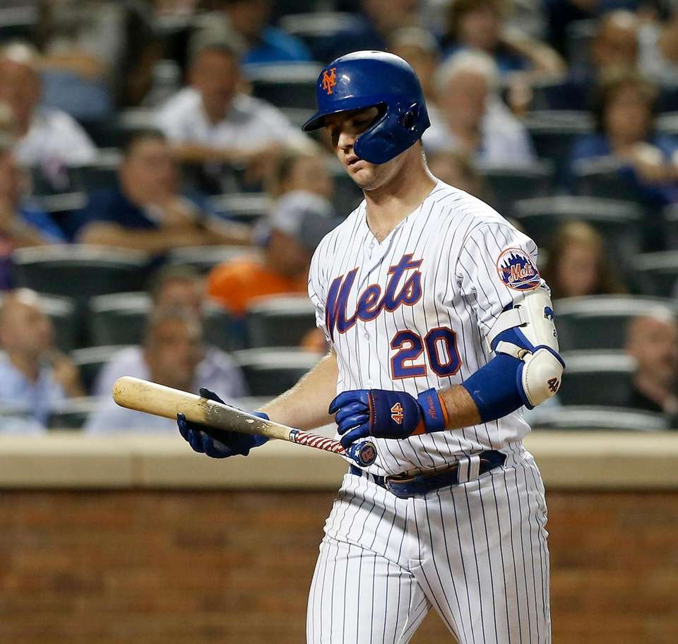Pete Alonso #20 of the New York Mets