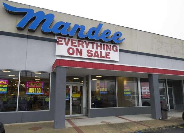 The Mandee store in Melville. The clothing retailer's