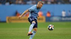 New York City FC defender Anton Tinnerholm (3)