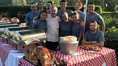 Guy Reuge's annual pig roast is slated for