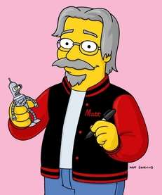 Matt Groening, creator of quot;The Simpsons,'' guest appearance