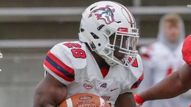 Stony Brook running back Isaiah White during the