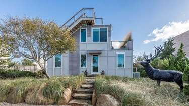 This Amagansett recycled container-home first sold in 2013