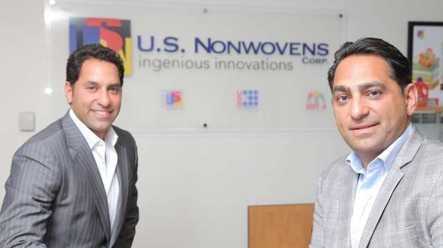 Executives Rody Mehdizadeh, left, and Shervin Zade are