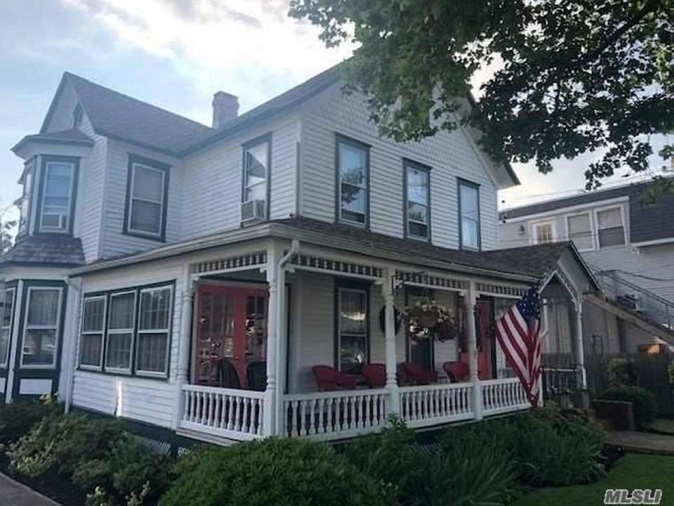 This 1890 Victorian in Greenport has four bedrooms