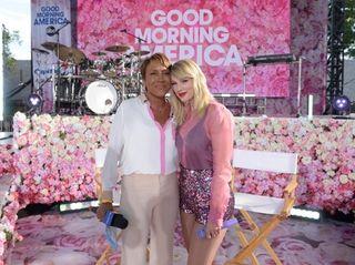 """Good Morning America"" anchor Robin Roberts and singer"