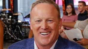 """Sean Spicer attends the """"Dancing with the Stars"""""""
