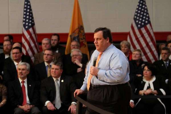CHRIS CHRISTIE vows to veto NJ gay marriage bill