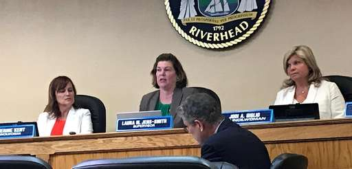 The Riverhead Town Board listened to public comments