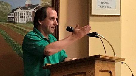 Robert Carpenter, administrative director of Calverton-based farming advocate