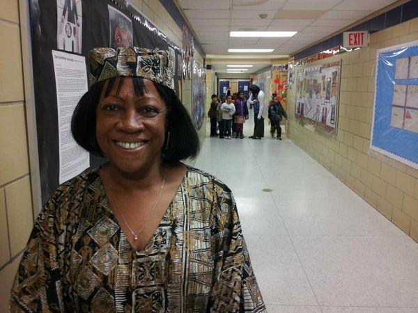 Delores Jenkins, 62, principal of LaFrancis Hardiman Elementary