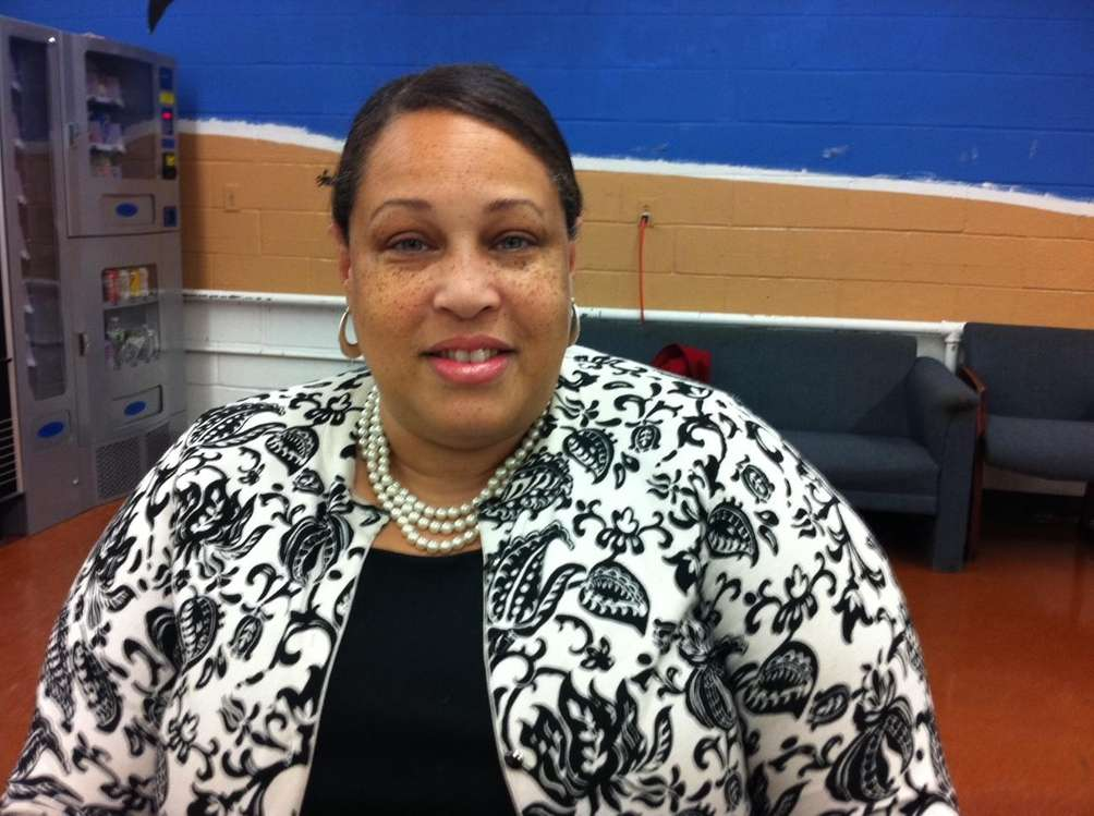 Sharon Carter-McCutcheon, 47, has lived in Wyandanch since