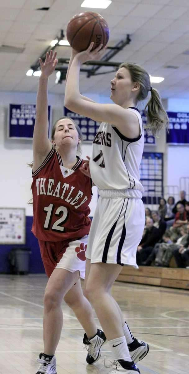 Cold Spring Harbor's Kelly Vassallo hits for two