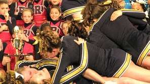 Sachem North 2011-12 national champion cheerleaders.