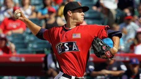 U.S. Futures All-Star Zack Wheeler, then of the