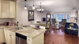 This Valley Stream apartment, in The Hawthorne building,