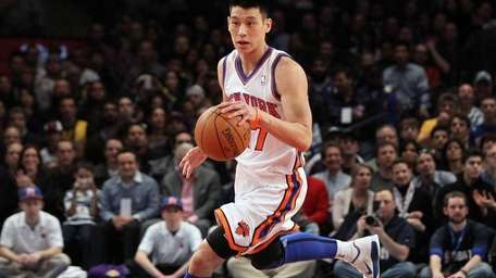 Jeremy Lin in action against the Los Angeles