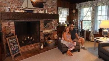 Susan and Anthony Fiorillo inside their Bayville home,