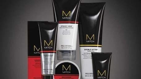 Paul Mitchell has a new line for guys