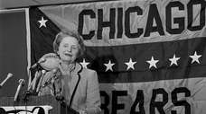 Chicago Bears owner Virginia McCaskey.