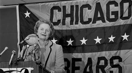 Chicago Bears owner Virginia McCaskey.